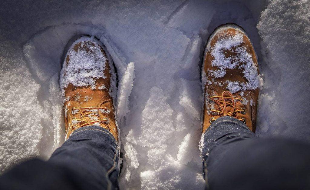 buty w zimie