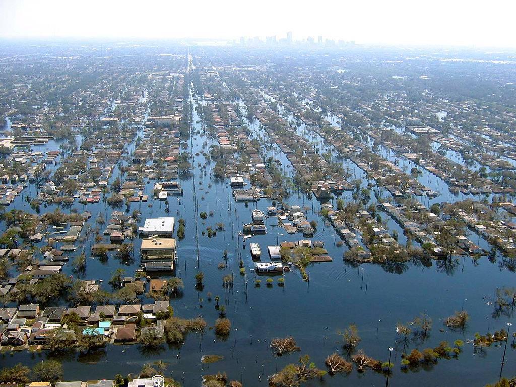 Nowy Orlean, powódź.