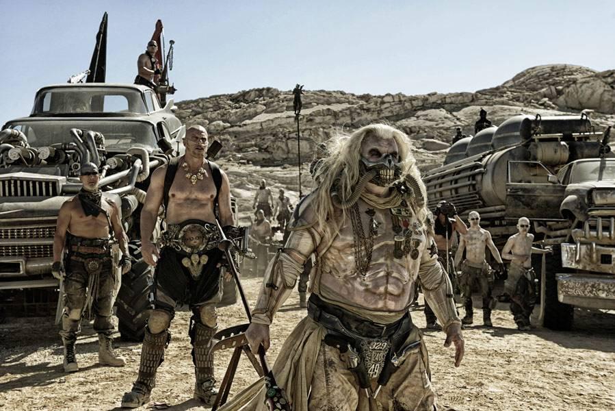 Scena z filmu Mad Max 2