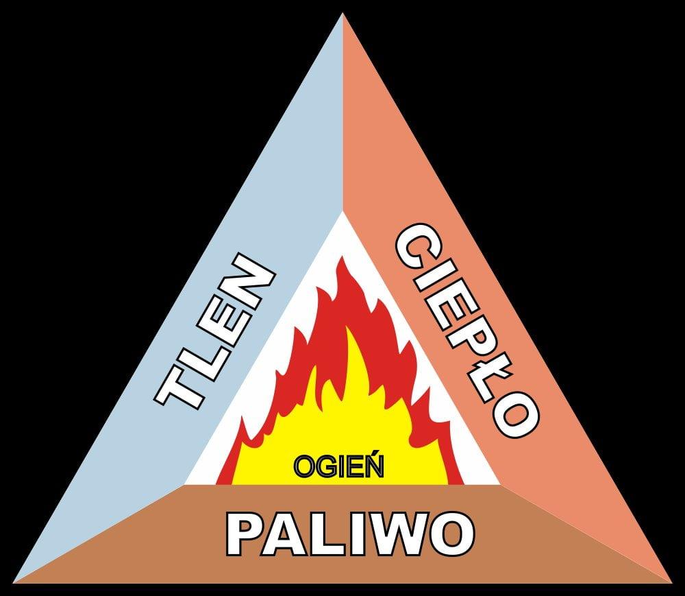 Jak rozpalić ognisko? Potrzebujesz: tlenu, ciepła i ogna. Trójkąt ognia