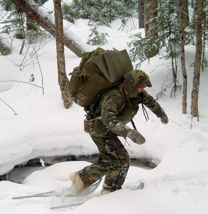 Chodzenie po śniegu