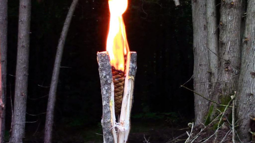 Płonąca pochodnia