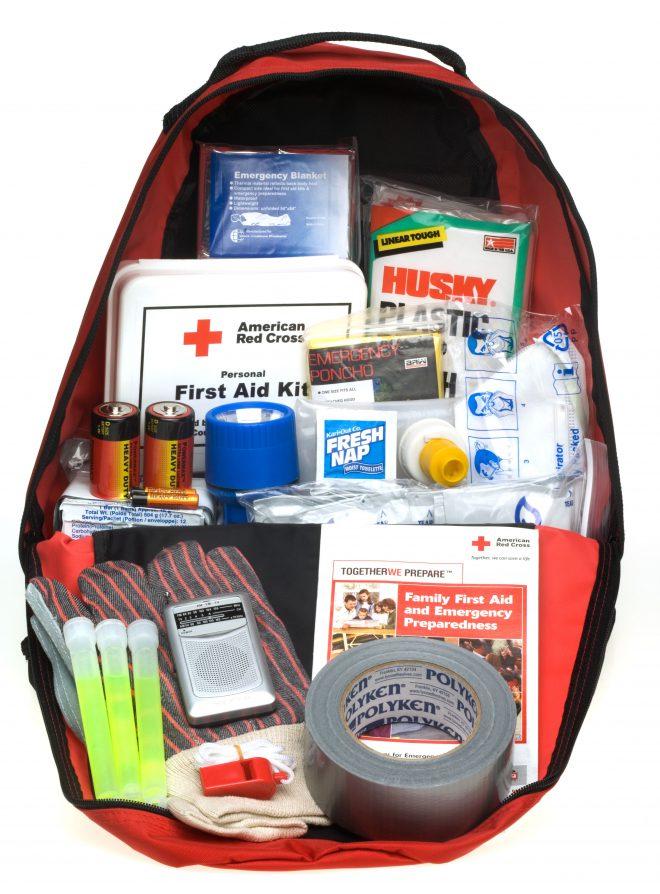 Przykładowy plecak ucieczkowy