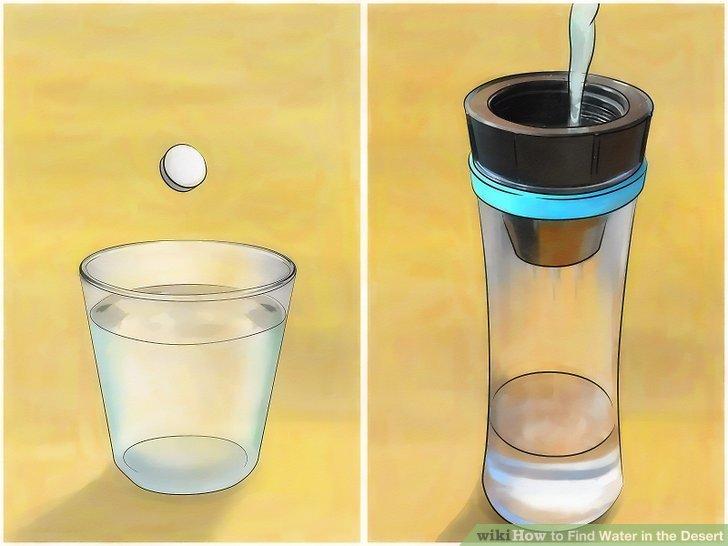 Oczyść zebraną wodę